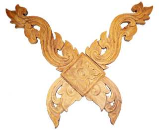 KaLea Thai Teak Carving Cross