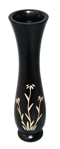 Mango Vase with Flower Design