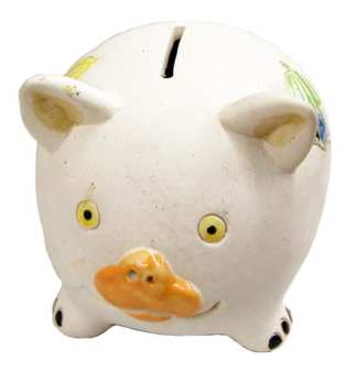 Ceramic Color Piggy Bank