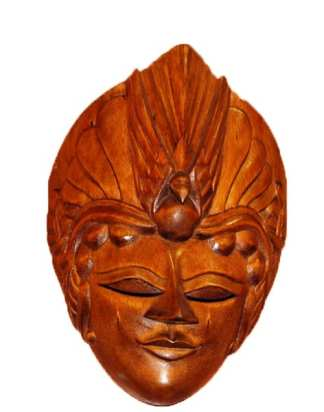Polynesian Mask Decoration