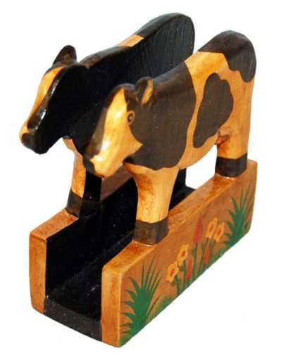 Cow Letter-Paper-Napkin Holder