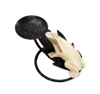 Tree Frog Candle Holder