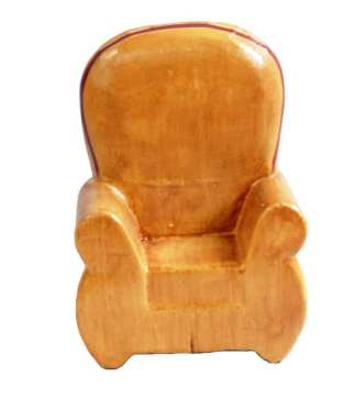One Seater Chair Natural