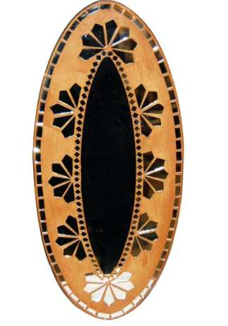 Oval Deco Mirror