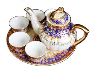 Benjarong Design Tea Set-43-2
