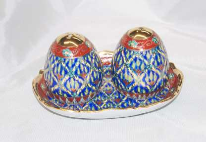 Benjarong Salt & Pepper Set -4