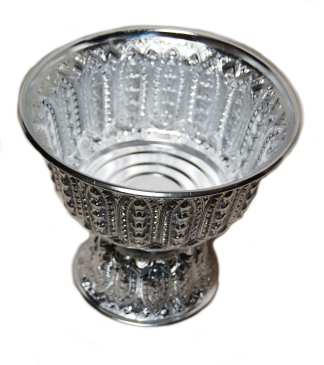 Silver Finish Bowl Display -9