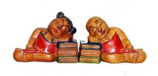Sleeping Baby Bookends