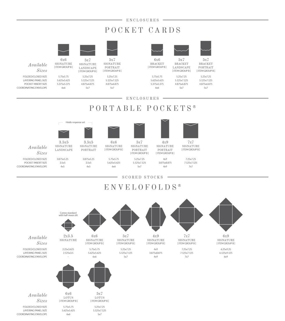 Pocket Cards and Envelofolds