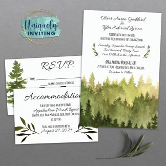 Into the Woods Invitation Set