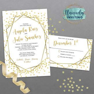 Puttin' On The Glitz Invitation Set