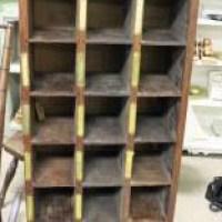 Vintage Mail Sorter Box - Revived