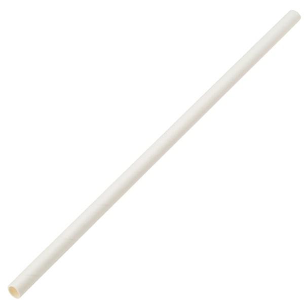 "Cocktail Paper Straws 1/4"" x 6"""