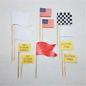 Specialty and Plain Flag Picks