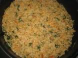 Tomato & Spinach Pulao