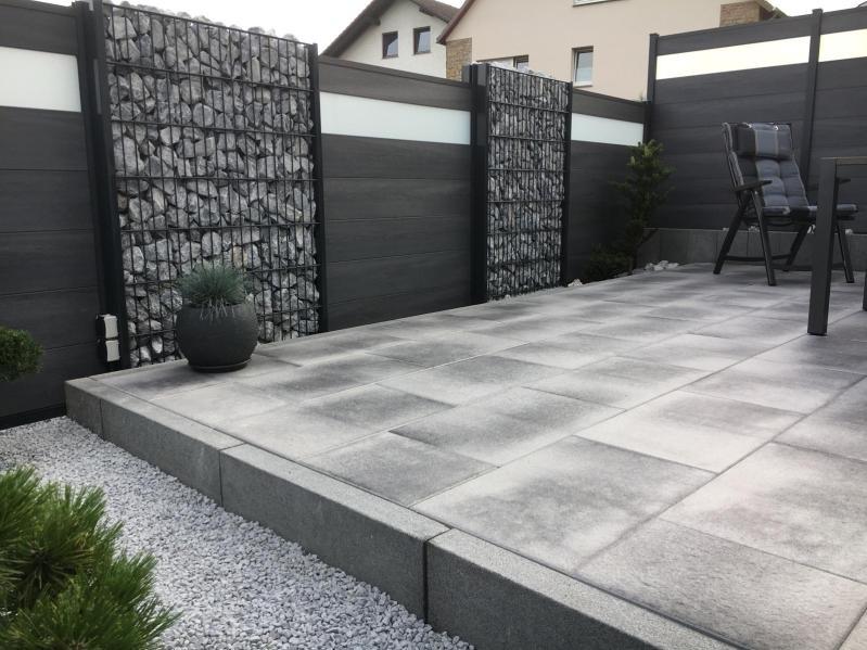 fence flat imitation grey wood and white 2