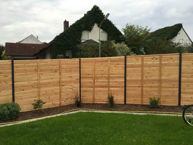 fence wood panels