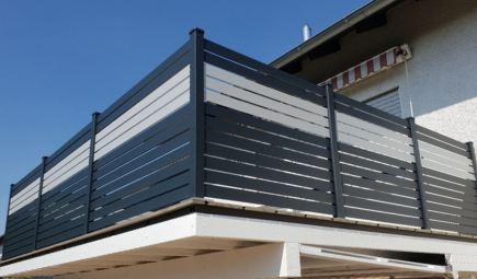 Rhomus balcony