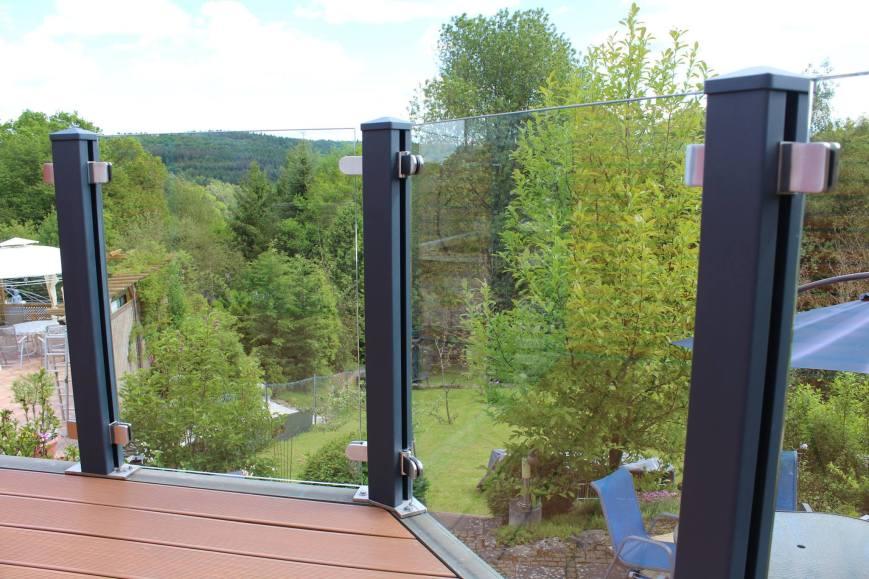 fence glass panels