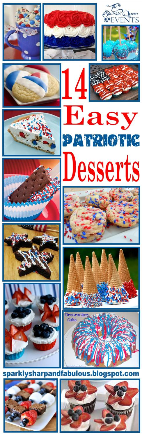 14 Easy Patriotic Desserts for the Fourth of July