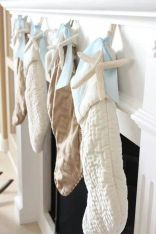 Beach Inspired Christmas Stockings – shared in a round up post by Indeed Décor