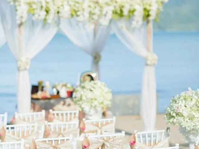 Beach Club Wedding F And M 22