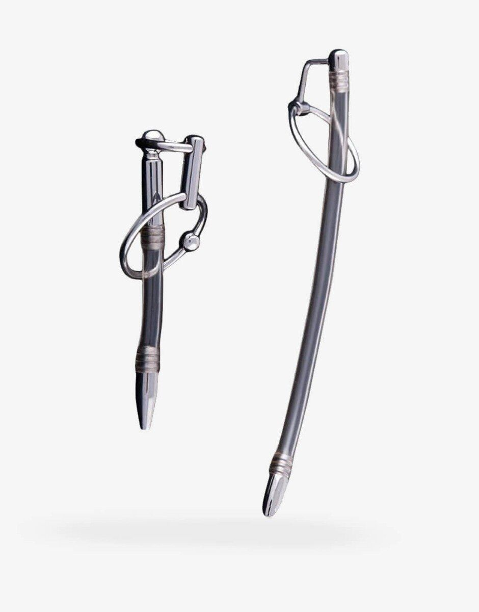 Fleksible penis plugs - størrelse small og large