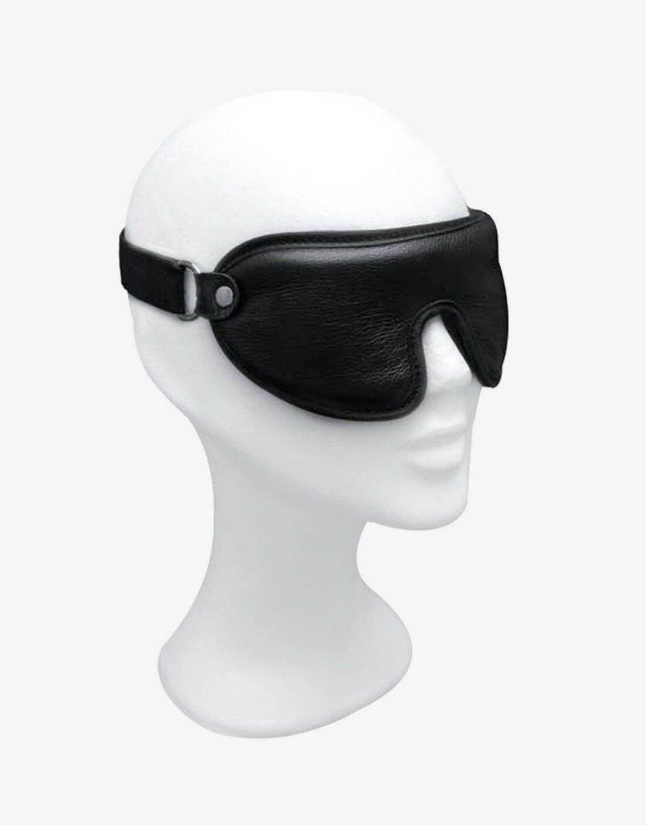 Det er tysk kvalitetsdesign når det er bedst, det polstrede blindfold fra PM Bodyleather