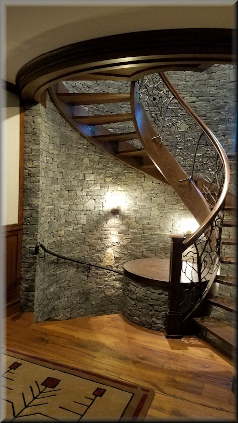 Wooden Spiral Stairs Custom Made By Unique Spiral Stairs | Stairs Made Of Wood | Pine | Staircase | Wood Plank | Hanging | Custom Made