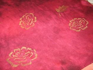 Wrap embellished with Gold Shiva