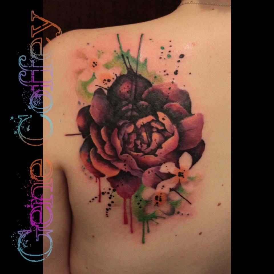 татуировка пион значение эскизы тату и фото