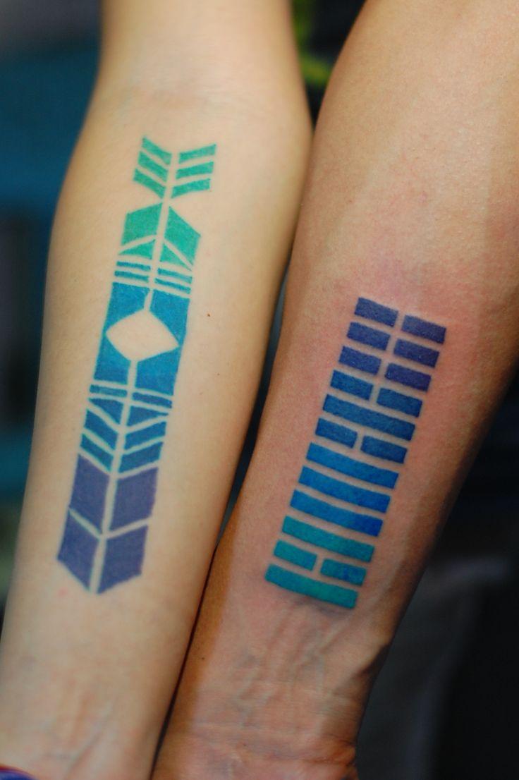 татуировки в стиле геометрия фото и эскизы