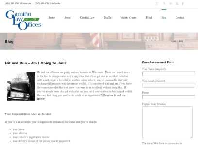 Milwaukee Lawyer's Blog