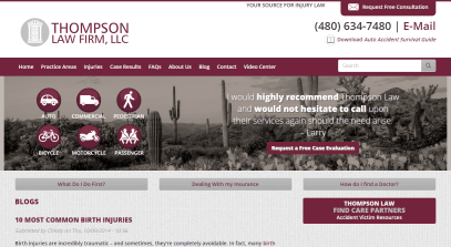 Blog Posts for a Personal Injury Lawyer