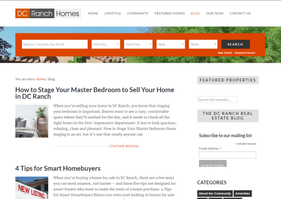Blog Posts for Scottsdale, AZ Realtors®