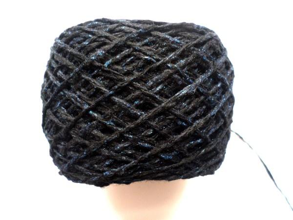 Blue Sparkling Yarn