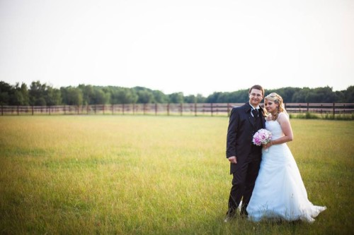 Kundenfoto Brautpaar
