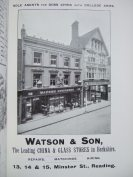 29. advert - Watson & Son china and glass