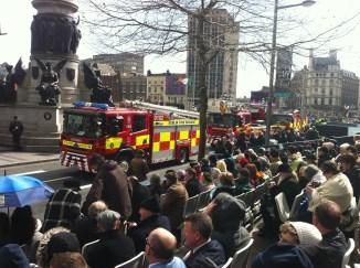 The Dublin Fire Brigade.