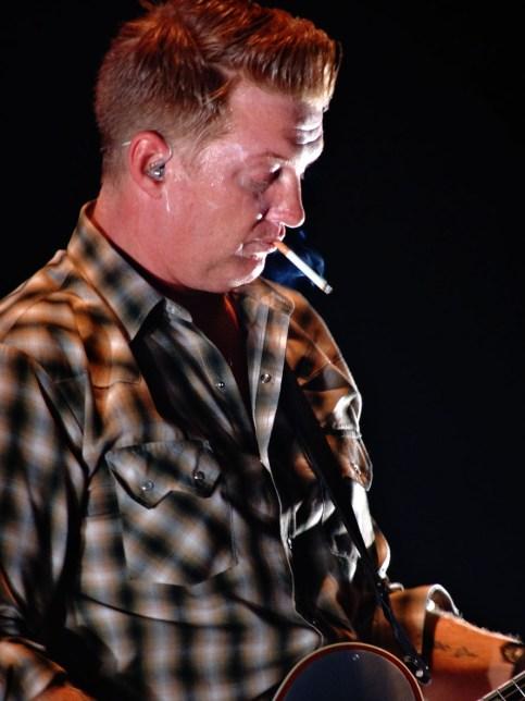 Josh Homme à Bâle, le 6 novembre 2013.