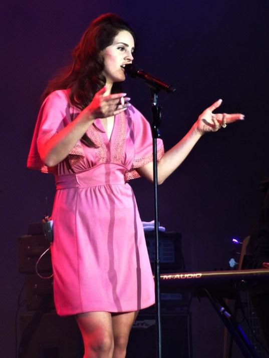 Lana Del Rey, Rock en Seine, 24 août 2014. (photo: Léa Fochesato)