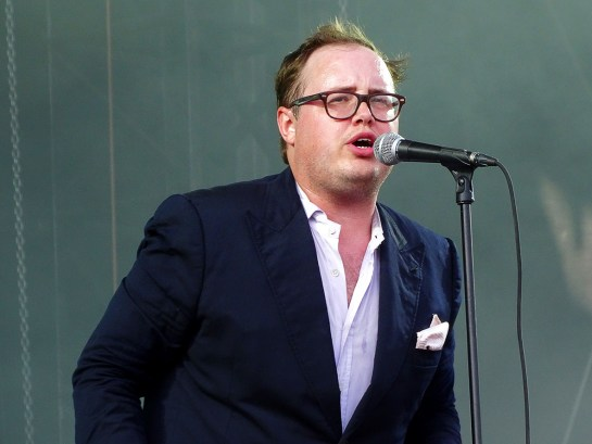 Paul Janeway - St Paul & The Broken Bones aux Eurockéennes, le 3 juillet 2015. (photo: Léa Fochesato)