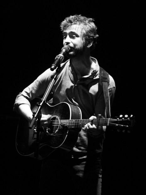 Renan Luce, le 19 novembre 2015, à Rombas. (photo: Coralie Houillon)