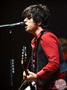 Billie Joe Armstrong (Green Day), at Rockhal, 12/06/2017. (photos: Léa Fochesato)