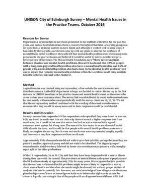 thumbnail of Mental health survey October 2016