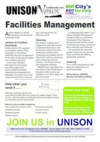thumbnail of Facilities Management Update 9 Feb 2018