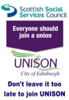 Don't levae it too late to join UNISON