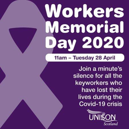 Workers' Memorial Day 2020