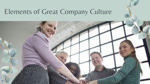 Great Company Culture