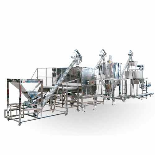 spice seasoning mixing packing system